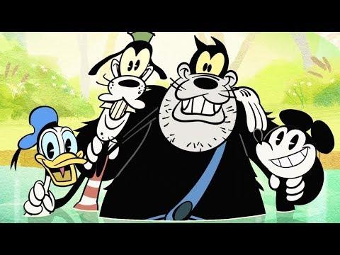 Swimmin' Hole | A Mickey Mouse Cartoon | Disney Shorts