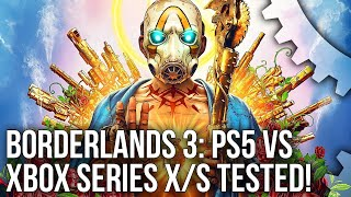 Borderlands 3 PS5 vs Xbox Series X: 4K60 and 120fps Modes Tested - Plus Series S Comparisons!