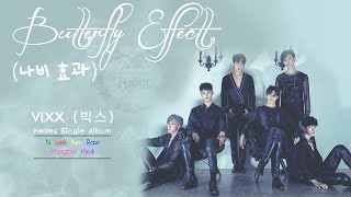 VIXX (빅스) - Butterfly Effect (나비 효과) (Colour Coded) [Han|Rom|Eng Lyrics]