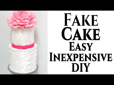 diy-|-fake-wedding-cake-tutorial