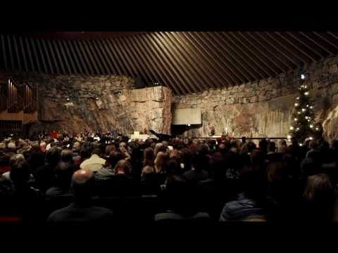 Uuden vuoden konsertti Temppeliaukion kirkossa Helsingissa