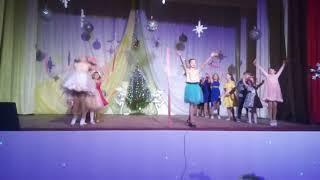 """Спас-Деменск  Д/к.30 декабря 2017 г. Танец """" Я рисую этот мир"""""""