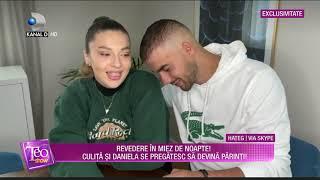 Teo Show (01.06.2021) - EXCLUSIV | CULITA SI GRAVIDUTA DANIELA, PENTRU PRIMA DATA IMPREUNA LA TV!