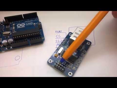 [Arduino] #4 - Moduł Ethernet ENC28J60