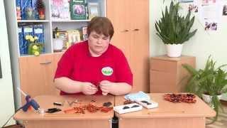 Видеоурок «Как сделать брошь из георгиевской ленточки»