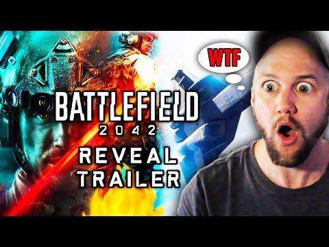 LET'S GO! Battlefield 2042  Reveal Trailer (ft. 2WEI) REACTION!!! 😱