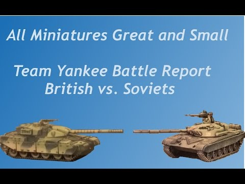 Team Yankee - Battle Report #4 - British vs Soviets