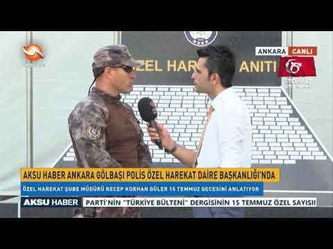 #AksuHaber, Ankara Gölbaşı Polis Özel Harekat Daire Başkanlığı'nda!