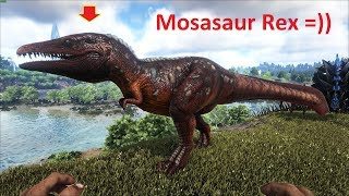 ARK: Survival Evolved (Crystal Isles) #6 - Bạo Chúa Bị Đột Biến (Mosasaur REX)