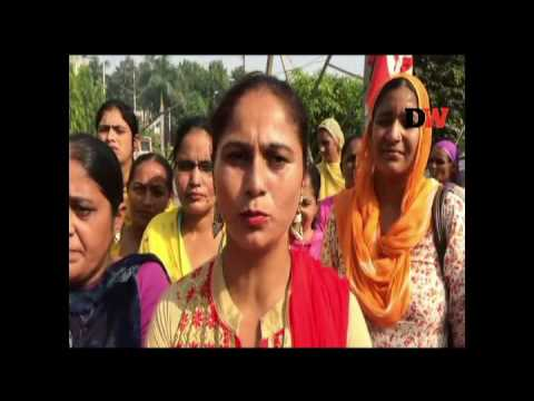 Asha workers protest in Ropar