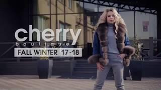 Рекламная съемка для сети бутиков CHERRY