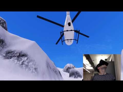 Alpine Ski VR Gameplay