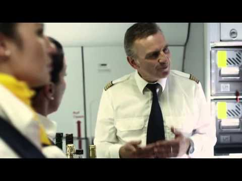 Lufthansa TV-Spot mit dem FC Bayern Muenchen