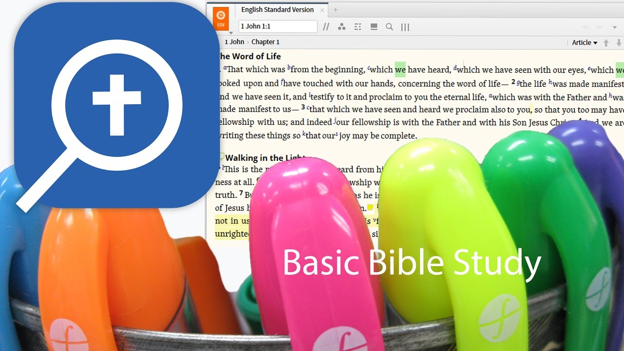 How to use Logos 7 Reading Plan, Notes and Highlighting for Bible Study