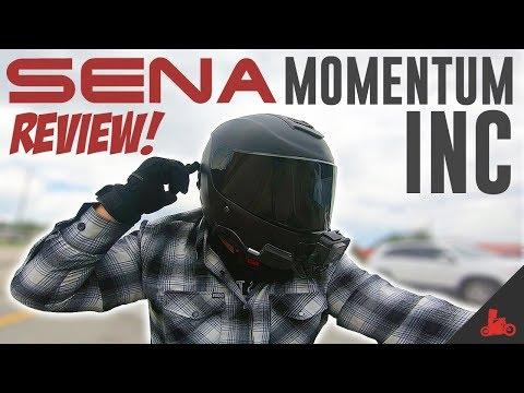 Sena Momentum INC - FIRST Ride Review! (Bluetooth Helmet)