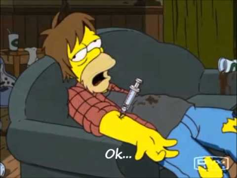 Simpsons  - Comfortably Numb