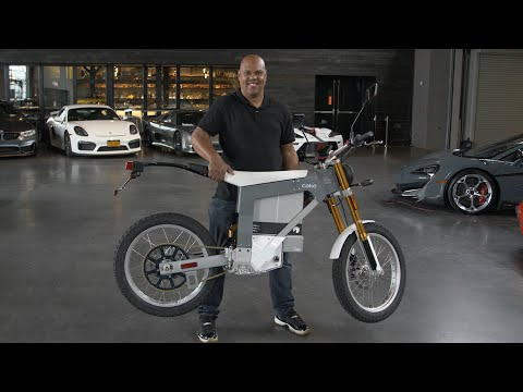 We rode Cake's 150-lb fully electric motorcycle