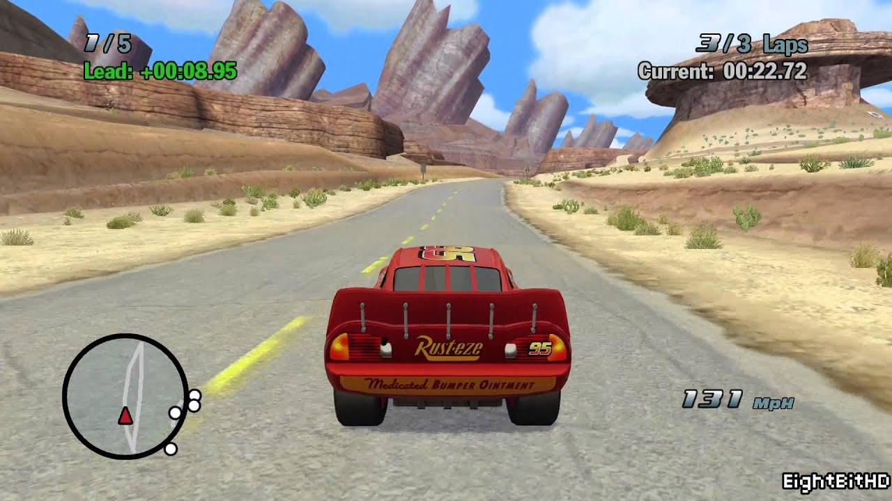 Cars Full Walkthrough Game Hd Youtube