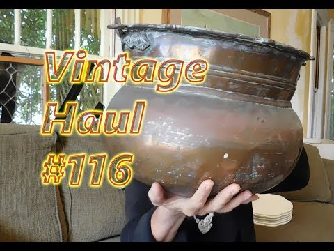 Diggin' with Dirty Girl S7E2 Vintage Haul #116: Free & Cheap Stuff to Sell Online