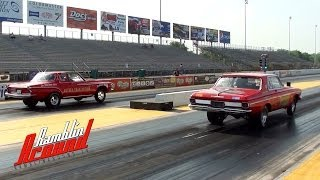 1963 Plymouth Sport Fury Max Wedge Vs 1962 Dodge Dart Max Wedge