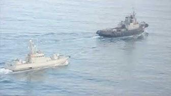 Venäjä valtasi Ukrainan aluksia