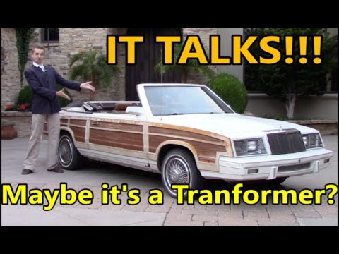 I Bought the Ugliest Car in the USA-- AND IT TALKS!!!