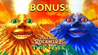 San Manuel 🎰 Volcanic Rock Fire Twin Fever 🌋🌋 The Slot Cats 🎰😸😺