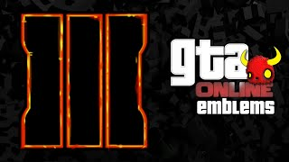 GTA V - BLACK OPS 3 - Custom Crew Emblem Tutorial ( Grand Theft Auto 5 ) Screetch2009