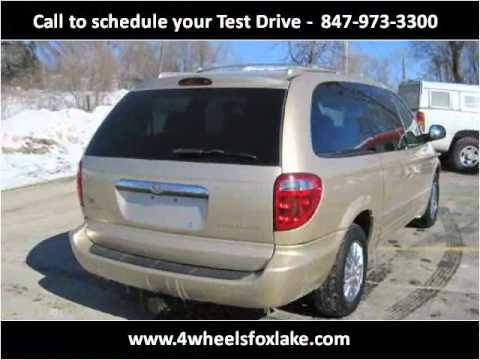 2001 Chrysler Town and Country Used Cars Fox Lake IL