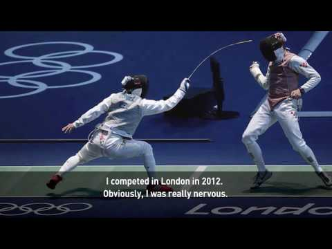 Behind the mask of Mexican Olympic fencer Daniel Gomez