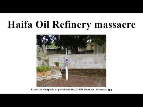 Haifa Oil Refinery massacre