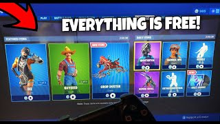 GRATUIT ARTICLE SHOP GLITCH! COMMENT GET THE 0 VBUCK ITEM SHOP IN FORTNITE SEASON 9! (PS4/XBOX/PC)