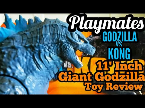 Playmates : GODZILLA vs KONG : 11'Inch Giant Godzilla Toy Review