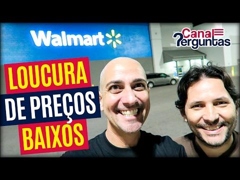 Vlog: ENLOUQUECENDO com os preços no Walmart, EUA! ✔