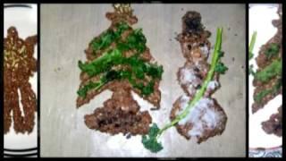 Melinda's Raw Gingerbread Cookie Folk