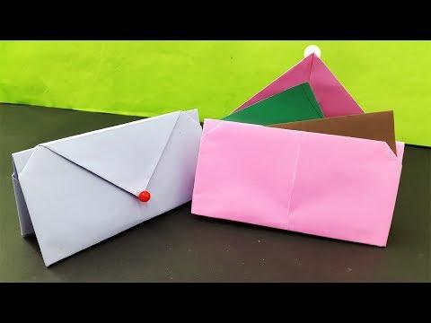 Diy Purse Clutch Wallet Tutorial | Easy Paper Purse origami | Handmade Purse | Paper craft ideas new