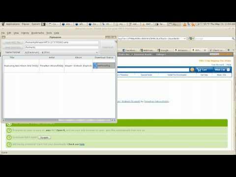 Pymazon  - Alternative to AmazonMP3 downloader