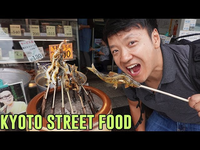 TRADITIONAL STREET FOOD & Tofu Hotpot in Kyoto Japan