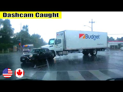 Ultimate North American Cars Driving Fails Compilation - 249 [Dash Cam Caught Video]