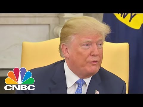 Relationship With Angela Merkel Is Great: President Donald Trump | CNBC