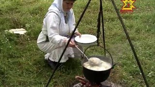 Чувашская кухня. Тогаево. Мариинский Посад. 2013г, на чувашском