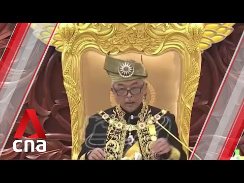 Malaysia's king urges lawmakers to end political infighting