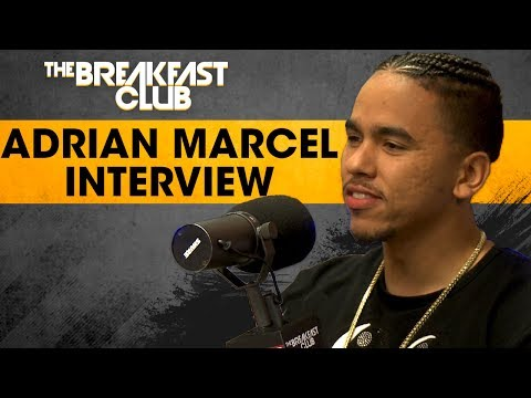 Adrian Marcel On Finally Putting Out A Full Album, Performs His Song No Limit