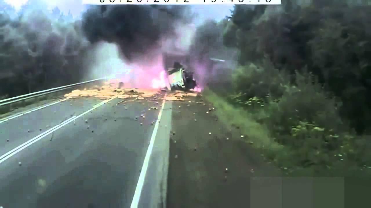 Lkw Unfälle Video