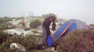 Força dos ventos na Pedra da Mina, novembro de 2009 (Rebel Lands)
