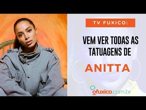 TV Fuxico: Quais são as tatuagens de Anitta? Qual ela removeu?