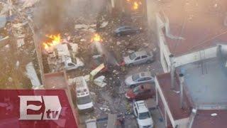 Explosión en Hospital Infantil de Cuajimalpa es atendida por la Cruz Roja Mexicana