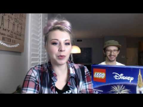 Lego Disney Castle Build - LIVE! ft. Andrew Ducote and Tiffany Mink