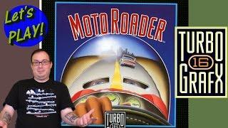 Moto Roader on Turbo Grafx 16 at 60FPS - Retro GP