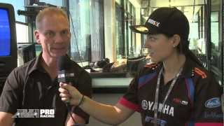 5 Minutes with Melissa Paris - Scott Russell at Road America